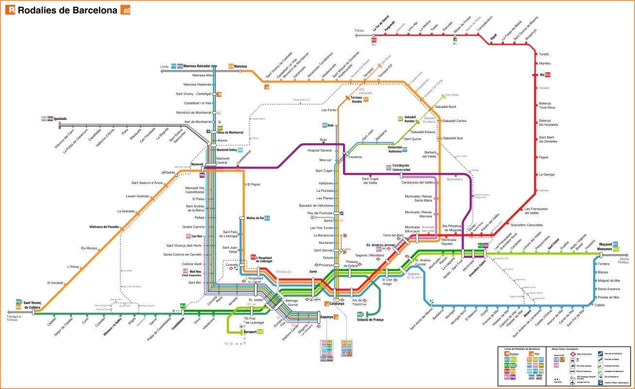 Zug Berlin Barcelona